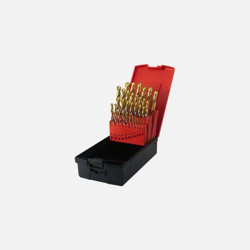 Osborn Goldex HSS 1.0-10.0mm x 0.5mm Drill Set (19 Drills)